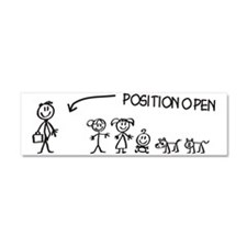 Stick Figure Family Woman Position