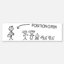 Stick Figure Family Woman Position Open Car Car Sticker