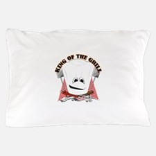 Chef Hat and BBQ Tools Pillow Case
