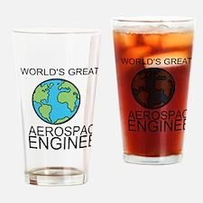Worlds Greatest Aerospace Engineer Drinking Glass
