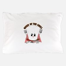 ChefHat and BBQ Tools Pillow Case