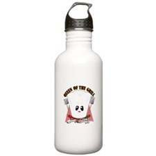 ChefHat and BBQ Tools Water Bottle