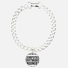 Trust Me, Im A Computer Software Engineer Bracelet