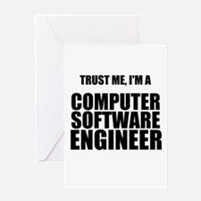 Trust Me, Im A Computer Software Engineer Greeting