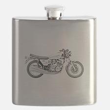 Benelli Motorcycle Flask
