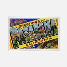 Pasadena California Greetings Rectangle Magnet
