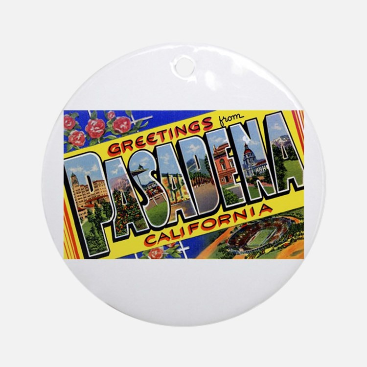 Pasadena Rose Bowl Ornaments