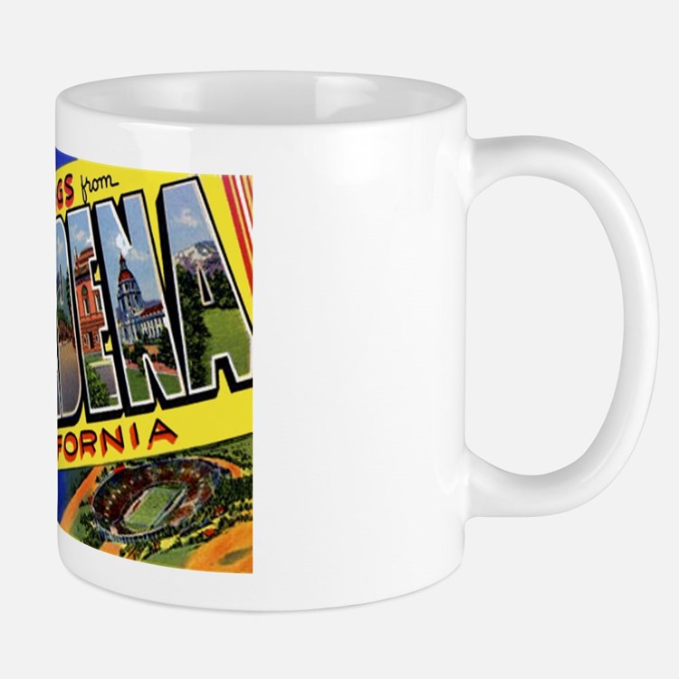 Pasadena California Greetings Mug