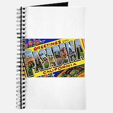 Pasadena California Greetings Journal