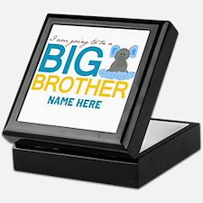 Add Name Big Brother Keepsake Box