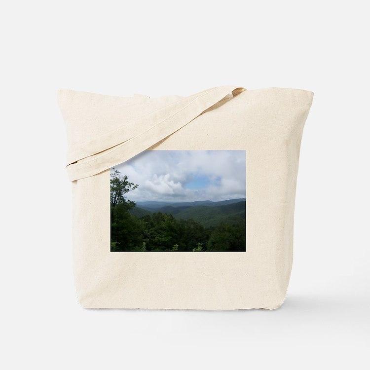 Blue Ridge Parkway - Asheville, NC Tote Bag