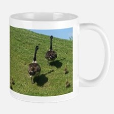 Geese Family with babies Mug