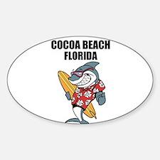 Cocoa Beach, Florida Decal