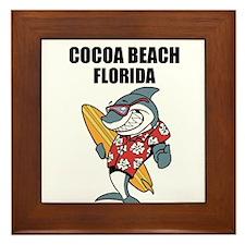 Cocoa Beach, Florida Framed Tile