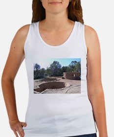 Giant Kivas at Anasazi Indian Ruins Tank Top