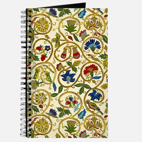 Elizabethan Swirl Embroidery Journal
