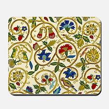 Elizabethan Swirl Embroidery Mousepad