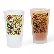 Elizabethan Swirl Embroidery Drinking Glass