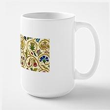 Elizabethan Swirl Embroidery Large Mug