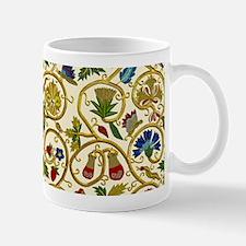 Elizabethan Swirl Embroidery Mug