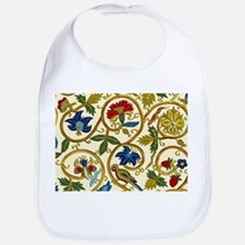 Elizabethan Swirl Embroidery Bib