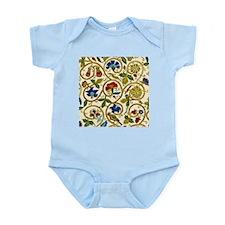 Elizabethan Swirl Embroidery Infant Bodysuit