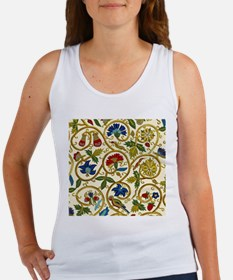 Elizabethan Swirl Embroidery Women's Tank Top