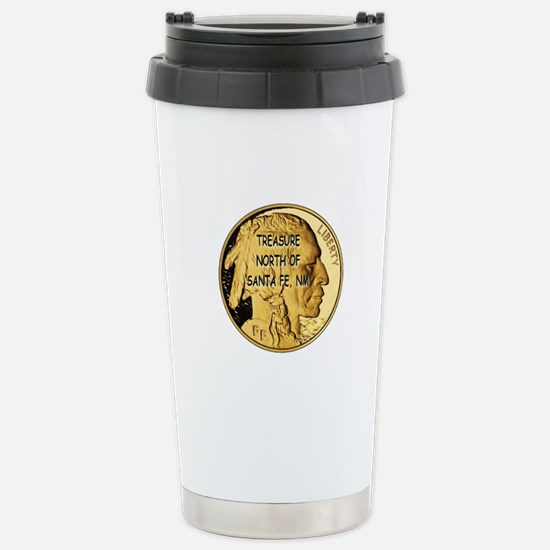 The Treasure Coin Stainless Steel Travel Mug