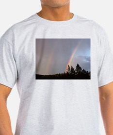 Double rainbow in Colorado T-Shirt