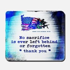Military Sacrifice Mousepad