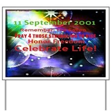 September 11th Yard Sign