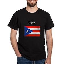Custom Name Boricua Puerto Rican Flag T-Shirt