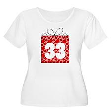 33rd Birthday Mod Gift T-Shirt