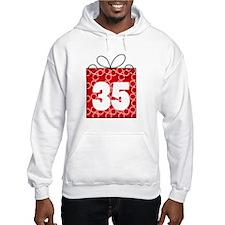35th Birthday Mod Gift Hoodie