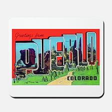 Pueblo Colorado Greetings Mousepad