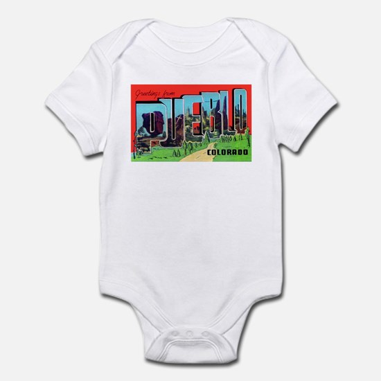 Pueblo Colorado Greetings Infant Bodysuit