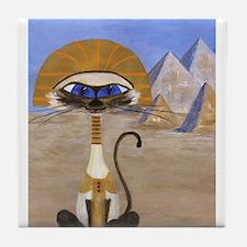 Siamese Queen of Egypt Tile Coaster