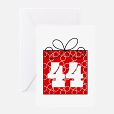 44th Birthday Mod Gift Greeting Card