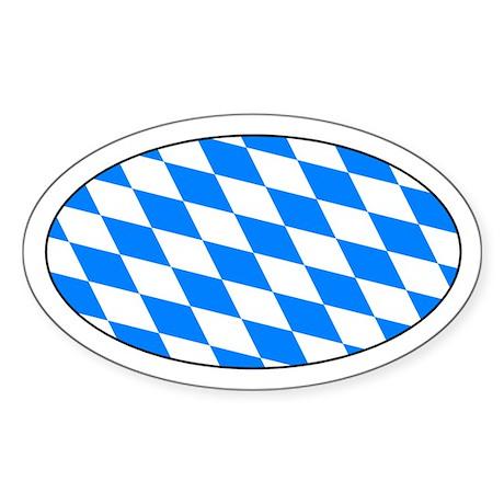 Bayern Raute Aufkleber - Bavarian Lozenge Sticker