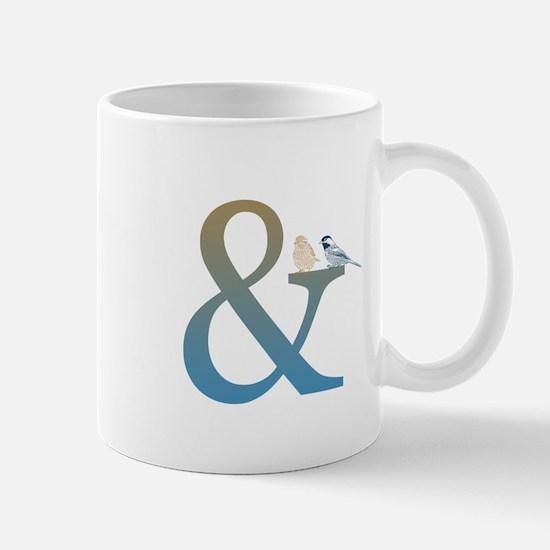And Ampersand with Birds Mug