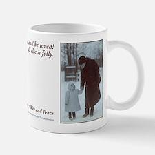 tolstoy quote Mug