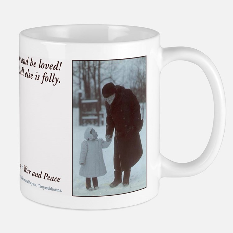 tolstoy quote Mug