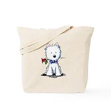 Westie Gent Tote Bag