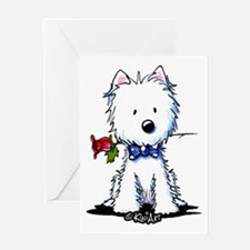 Westie Gent Greeting Card