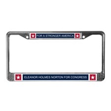 Elect Eleanor Holmes Norton License Plate Frame