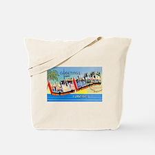 Palm Beach Florida Greetings Tote Bag