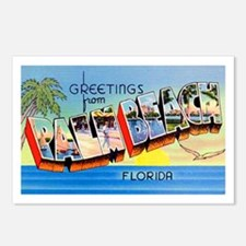 Palm Beach Florida Greetings Postcards (Package of