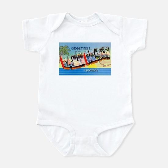 Palm Beach Florida Greetings Infant Bodysuit