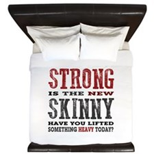 Have you Lifted Something Heavy Today? King Duvet