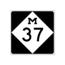 Highway M-37 Sticker